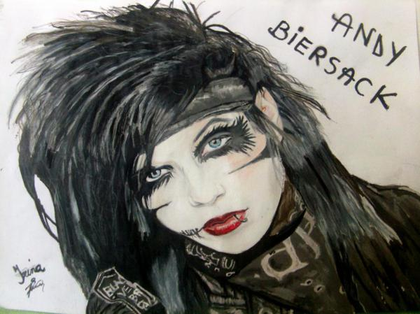 Andy Biersack by Eirene